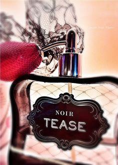 Victorias Secret perfume Noir Tease photograph by SandyWigginsImages