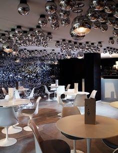 Diseño de interior restaurante. Circus, London