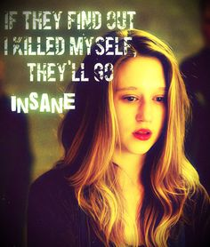 If they find out I killed myself, they'll go insane. Violet #AmericanHorrorStory