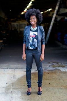 curvesincolor:  Cynthia.  Black Girls Killing It