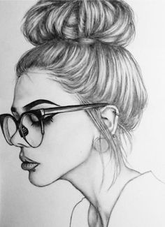 Art Sketchbook Ideas Pencil Easy – Art World 20 Girl Drawing Sketches, Girly Drawings, Face Sketch, Art Drawings Sketches Simple, Pencil Art Drawings, Cool Drawings, Drawing Ideas, Drawing Art, Girl Sketch Images
