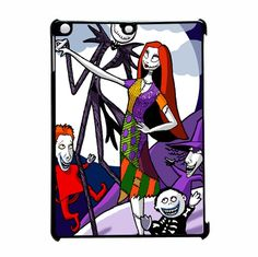 The Nightmare Before Christmas Jack Family Three iPad Air Case