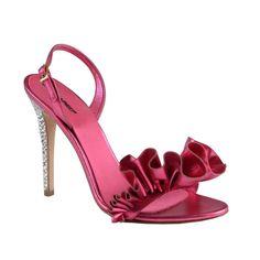 Dsquared Women's Sparkle Slingback Sandals Heels Shoes Size 6 7 7.5 8 8.5 9  #Dsquared #Slingbacks