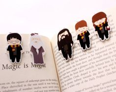 Harry Potter Magnetic Bookmarks
