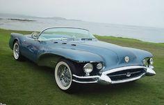 1954 Buick Wildcat II: Chief designer, Ned Nichols, described it as 'American adventure in tomorrow's design.'