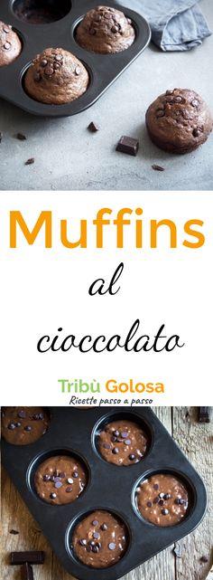 Il #cioccolato: che infinita storia d'amore! Noi adoriamo i #muffins , siamo colpiti ogni volta dalla perfezione dei sapori bilanciati, dall'impasto soffice ma al tempo stesso morbido, che non soffoca, e che si lascia mangiare morso dopo morso.  #tribugolosa #gourmettribe #golosiditalia #cucina #cucinaitaliana #cucinare #italianrecipes #food #italianfood #foodstyling #yummy #foodlover #ricette #recipe #homemade #delicious #ricettefacili Tasty, Yummy Food, Cooking Recipes, Healthy Recipes, Oreo, Muffins, Easy Meals, Breakfast, Desserts