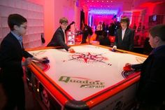 ROCK N' ROLL BAR MITZVAH BAR MITZVAH IN NEW YORK, NEW YORK; Florie Huppert Design Event Planner