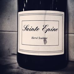 Hervé Souhaut ultra-pure St Joseph, vintage 2010. In magnum. Needs 2 hours to yield its aromas. #naturalwine #syrah