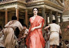 Rachel Weisz as the historical Alexandrian philosopher and mathematician Hypatia in the film Agora