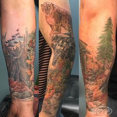 Fall transition to winter sleeve ❄️#moge #empiretattoo #empiretattooinc #tattoo #bostontattoo www.empiretattooinc.com