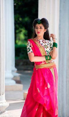 Chanderi Silk Cotton...... Luv the color
