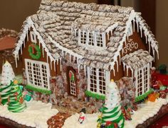 Incredible Gingerbread House