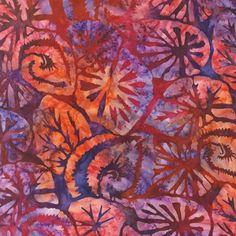 Robert Kaufman Artisan Batik Grove Begonia Tropical