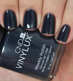 CND VINYLUX Indigo Frock | Fall 2014 Modern Folklore Collection | Peachy Polish