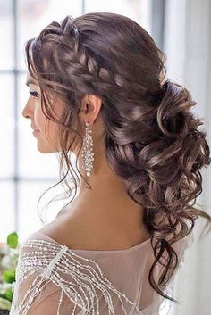 Diy Hairstyles and Tutorial for all hair lengths 076 . - Peinados Diy y Tutorial para todas las longitudes de cabello 076 Diy Hairstyles and Tutorial for all hair lengths 076 Diy Hairstyles and Tutorial p Wedding Hair Half, Long Hair Wedding Styles, Wedding Hairstyles For Long Hair, Wedding Hair And Makeup, Short Hair Styles, Trendy Wedding, Updo For Long Hair, Hairstyles For Bridesmaids, Wedding Hairstyles Half Up Half Down