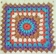 Next granny square blanket