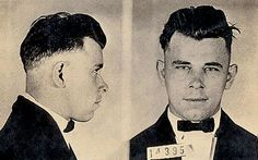 John Dillinger--In 1933–34, seen in retrospect as the heyday of the Depression-era outlaw, Dillinger was the most notorious of all, standing out even among more violent criminals such as Baby Face Nelson, Pretty Boy Floyd, and Bonnie and Clyde