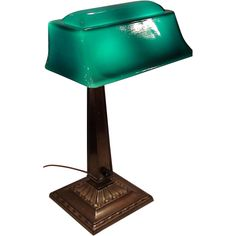 Replace bankers lamp shade bankers lamp pinterest bankers lamp emeralite 9 desk lamp with rare form shade aloadofball Images