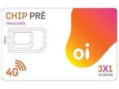 Chip Oi 3 em 1 Pré - DDD 48 SC Tecnologia 4G com as melhores condições você encontra no Magazine 960com. Confira!