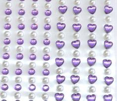 Hart & Pearl Sticker collection for R48/5 Sheets. This product comes in various colour options | Paradise Creative Crafts