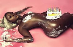 Maybe a future gift for boyfriend or husband. Just be naked with cake