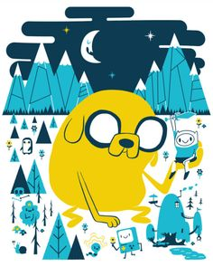 Adventure Time by Sean Dove