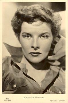 Katharine HEPBURN (1907 / 2003) - L' actrice en version masculine dans «Sylvia Scarlett» (1935).