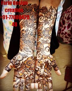 Floral Henna Designs, Latest Arabic Mehndi Designs, Henna Art Designs, Mehndi Designs For Beginners, Mehndi Designs 2018, Stylish Mehndi Designs, Wedding Mehndi Designs, Pakistani Henna Designs, Dulhan Mehndi Designs