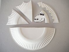 Pattern for paper plate dragon. Learn with Play at Home: Simple Paper Plate Dragon Craft
