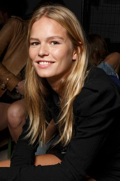 Anna Ewers at Isabel Marant Spring 2019 Ready-to-Wear Backstage Hair Inspiration, Fashion Inspiration, Anna Ewers, My Fair Lady, Luxury Beauty, Ambition, Isabel Marant, Backstage, Ready To Wear