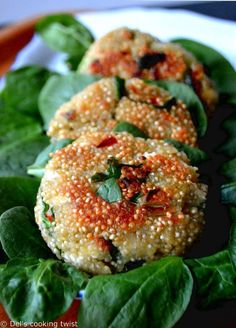 Spinach and Feta Quinoa Patties | Del's cooking twist                                                                                                                                                                                 More