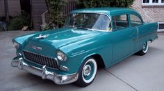 55 chevy - the first car I remember my family having.