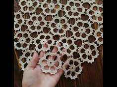 Easy Knitting Patterns for Beginners - How to Get Started Quickly? Crochet Pouf, Crochet Motifs, Crochet Doilies, Crochet Flowers, Crochet Lace, Lace Knitting Patterns, Doily Patterns, Knitting Stitches, Baby Patterns