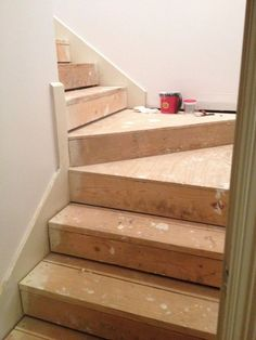 They cover their stairs in plastic. Two days later? This transformation is incredible