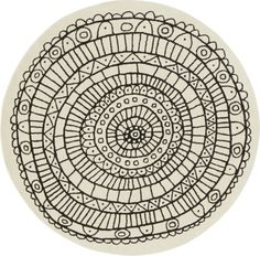 Scope Rug (6' diameter) // CB2