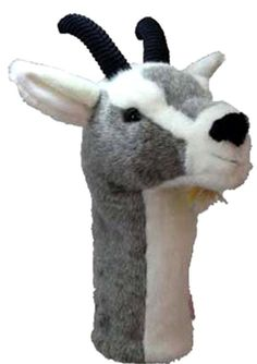 Golf! Daphne's Grey Goat Full Size Golf Club Headcover 460cc #Daphnes