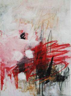 "Saatchi Art Artist Kat Crosby; Painting, ""Homage to Cy"" #art"