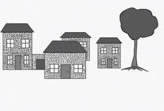Houses Coding, Houses, Animation, Illustration, Art, Homes, Art Background, Kunst, Illustrations