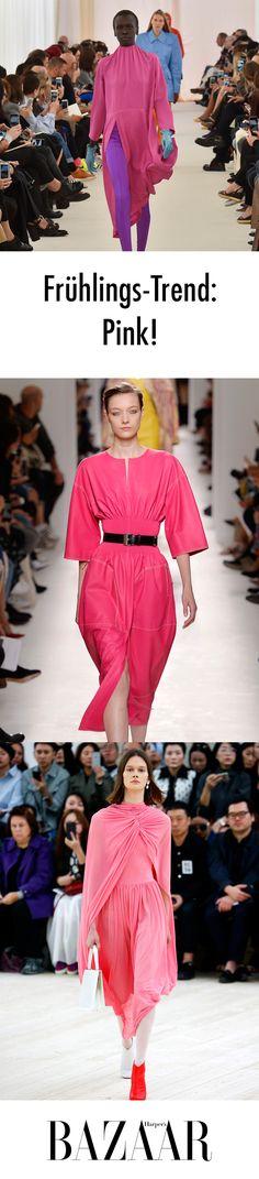 Vergessen Sie das kleine Schwarze, investieren Sie lieber in Pink! Pretty In Pink, Trends, Beauty, La Mode, Investing, Left Out, Clothing, Nice Asses, Beauty Trends
