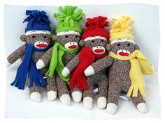 4 little monkeys