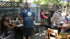 Carhartt Tasting Patio in Los Olivos, Santa Barbara County.