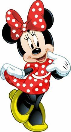 Minnie mousse roja, fotos,targeta.