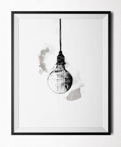 Light Bulb - Poster nordicdesigncollection