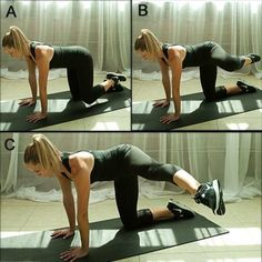 10 Moves for Thinner Thighs. Kills your legs and hips buts it's a good exercise