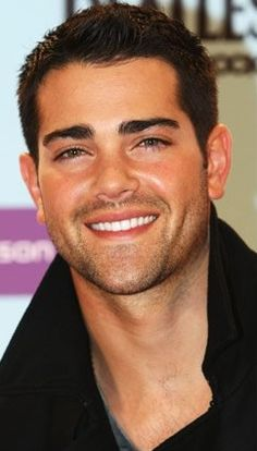 hair is dark and cared for. I could get lost in those eyes. The rouch facial hair. the PERFECT smile/teeth. He's my man.