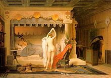 Classic Nude Paintings - King Candaules by Jean Leon Gerome Magritte, Norman Rockwell, Mondrian, Kandinsky, Renoir, Rembrandt, Matisse, Jean Leon, Academic Art