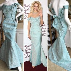 Rita Ora's Vivienne Westwood Gold Label Fishtail Mermaid Gown 3