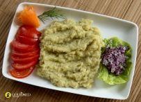 Μελιτζανοσαλάτα κλασσική Turkish Recipes, Ethnic Recipes, Pesto, Grains, Recipies, Rice, Food, Salt, Recipes