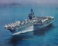 USS Constellation 64. One of the ships my Dad served on during Vietnam