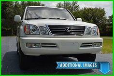 nice 2002 Lexus LX LX470 4X4 SUV LOW MILES! NAV! - FREE SHIPPING SALE - For Sale